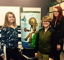 DHS Takes Second Place in Rain Barrel Project