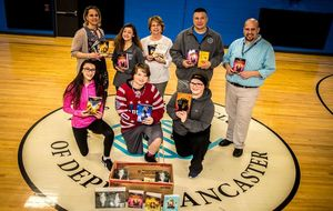 Depew Middle Student Council Brings Books to Boys & Girls Club