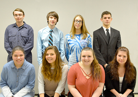 Nine Inducted into National Technical Honor Society