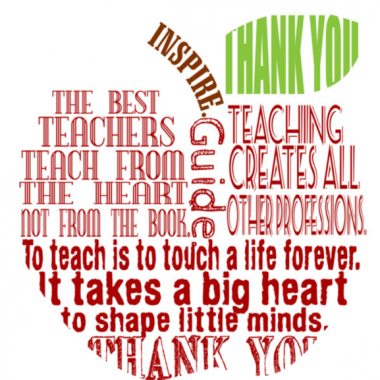 Say Thanks to a Teacher This Week (May 8-12)