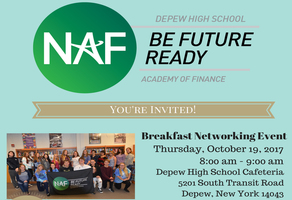 Depew High School Academy of Finance to hold event