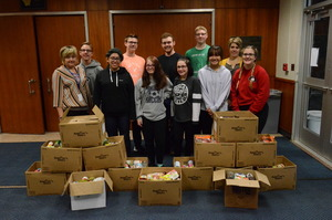 Depew students give back