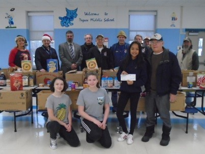 Holiday food drive a success
