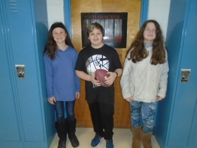 Sixth graders win the Superbowl