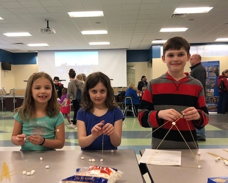 STEAM Family Night Sparkled with Energy and Fun