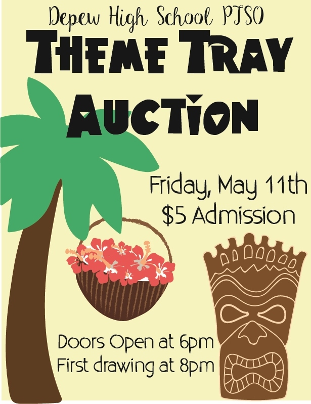 DHS Annual PTSO Theme Tray Auction is May 11