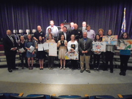 Depew Middle School Celebrates 46th Annual Freedom in America Contest