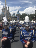 No Rain on Marching Band's Disney Parade