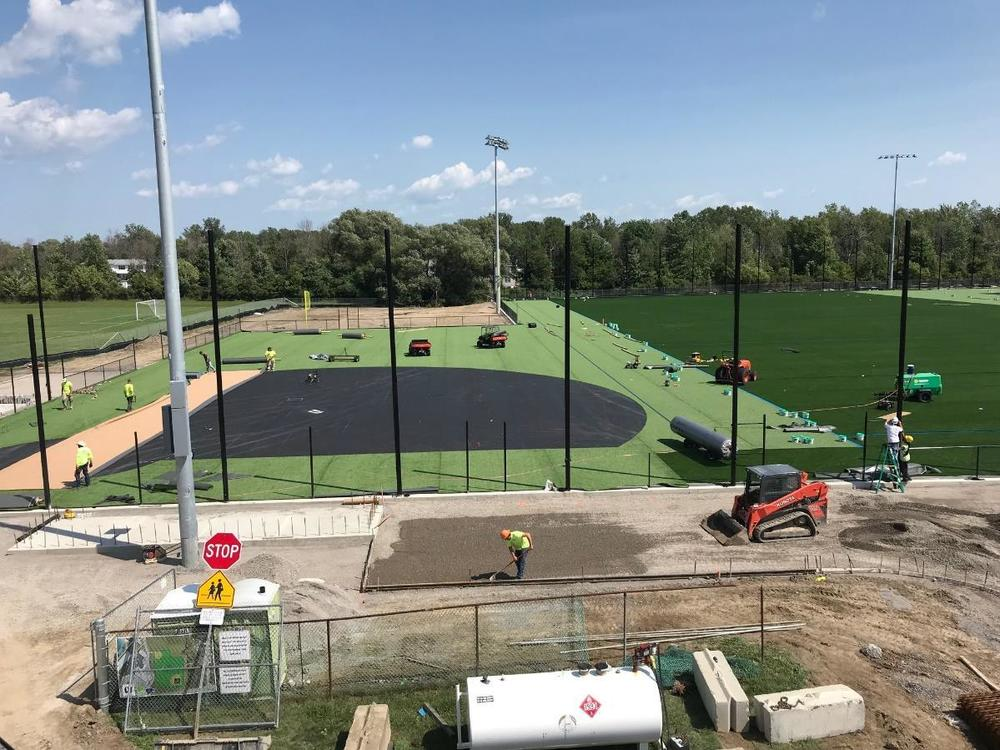 Sign and turf field update