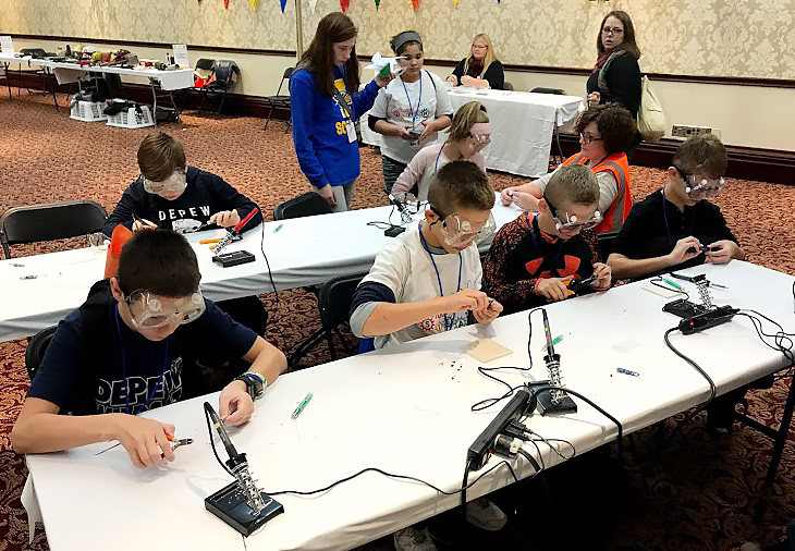 DMS Students Attend Maker Faire Rochester
