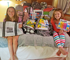 Students donate Supplies to CHE