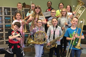 Fourth Graders Recruit Third Graders For Band