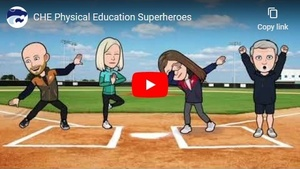 Physical Education Superheroes Video