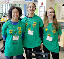 Middle School Students Attend Tech Savvy Conference