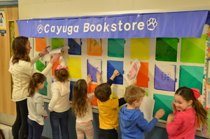 "Students Open ""Cayuga Bookstore"""