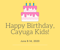 Cayuga Heights June 8-14, 2020 Birthdays