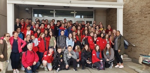 French Students Visit Depew