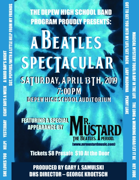 Beatles Spectacular poster