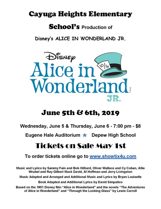 Alice in Wonderland Jr. poster