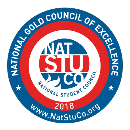 Depew High School's Student Council have received the National Gold Council of Excellence seal.